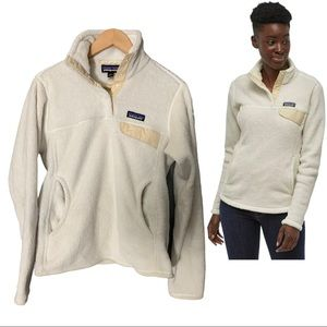 Patagonia Re Tool Snap T Fleece Pullover Sz Small